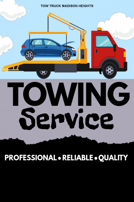 towing service poster